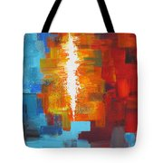 Color Deluge Tote Bag