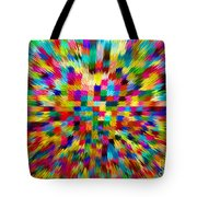 Color Explosion I Tote Bag