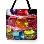 Color Fish Bowls Tote Bag