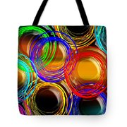 Color Frenzy 1 Tote Bag by Andee Design