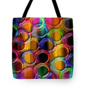 Color Frenzy 5 Tote Bag