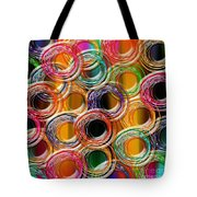 Color Frenzy 6 Tote Bag