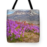 Color From Chaos - Mount St. Helens Tote Bag