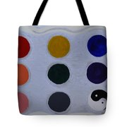 Color From The Series The Elements And Principles Of Art Tote Bag