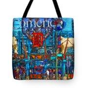Color In Comerica Tote Bag