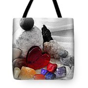 Color In The Midst Tote Bag