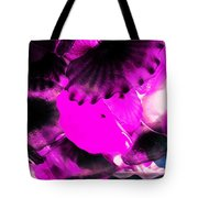 Color Infared Glass Flowers Tote Bag