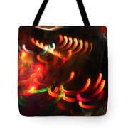 Color Light Motion Tote Bag