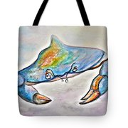 Color Me Blue . . . And Speckled Too Tote Bag