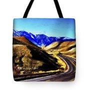 Color My Road Tote Bag