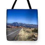 Color My Road V2 Tote Bag