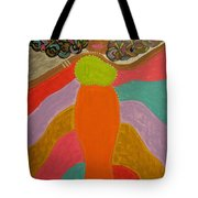 Color Of Dance Tote Bag