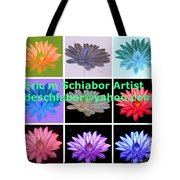 Color Of Lilies Tote Bag