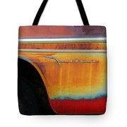 Color Of Rust Tote Bag