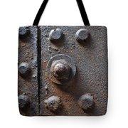 Color Of Steel 3 Tote Bag