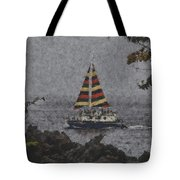 Color Of The Sails Tote Bag