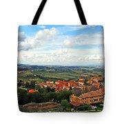 Color Of Tuscany Tote Bag