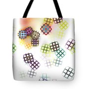 Color Of Your Window Tote Bag