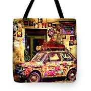 Color On The Road In Krakow- Poland Tote Bag