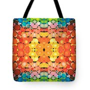 Color Revival - Abstract Art By Sharon Cummings Tote Bag