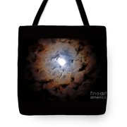 Color Ring Around The Moon Tote Bag