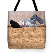 Color Rodeo Gunslinger Victim Tote Bag