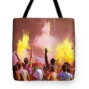Color Run Tote Bag