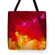 Color Shock 4 - Vibrant Digital Painting Tote Bag by Sharon Cummings