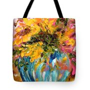 Color Splash Tote Bag by Barbara Pirkle