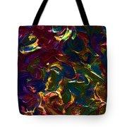 Color Splash V Tote Bag