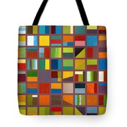 Color Study Collage 65 Tote Bag