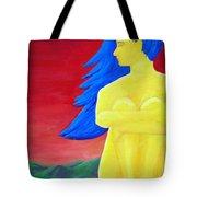 Color Study Yellow Tote Bag