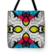 Color Symmetry 3 Tote Bag