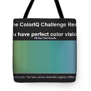 Color Test Melissa Bittinger Tote Bag
