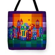 Color Town Tote Bag