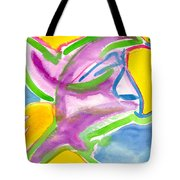 Color Triangles Tote Bag