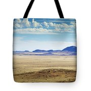 Color View Of West Texas Tote Bag