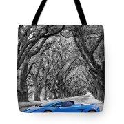 Color Your World - Lamborghini Gallardo Tote Bag