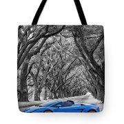 Color Your World - Lamborghini Gallardo Tote Bag by Steve Harrington