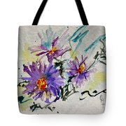 Colorado Asters Tote Bag