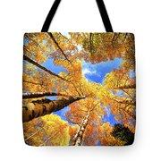 Colorado Autumn Sky Tote Bag