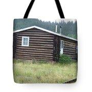 Colorado Cabin Tote Bag