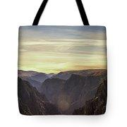 Colorado Canyon Morning Tote Bag