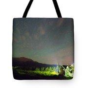 Colorado Chapel On The Rock Dreamy Night Sky Tote Bag
