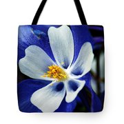 Colorado Columbine Tote Bag