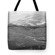 Colorado Continental Divide Panorama Hdr Bw Tote Bag