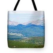 Colorado Continental Divide Panorama Hdr Tote Bag