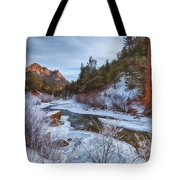 Colorado Creek Tote Bag by Darren  White