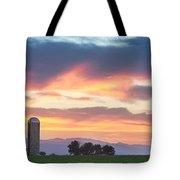 Colorado Farmers Sunset Tote Bag