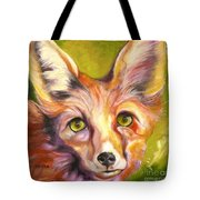 Colorado Fox Tote Bag